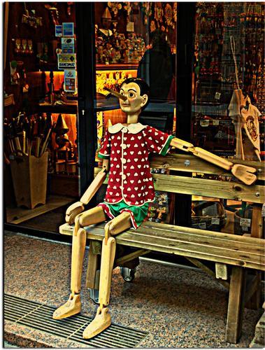 Pinocchio - Milano (1952 clic)
