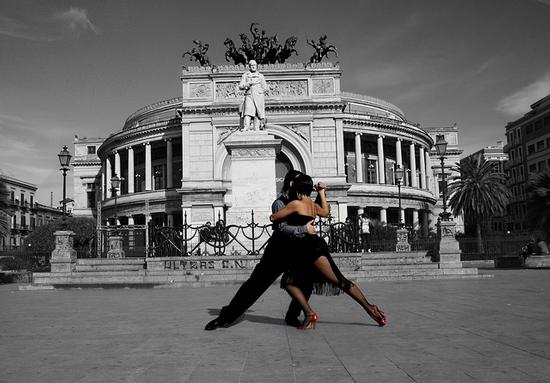 Tango in piazza - Palermo (4277 clic)