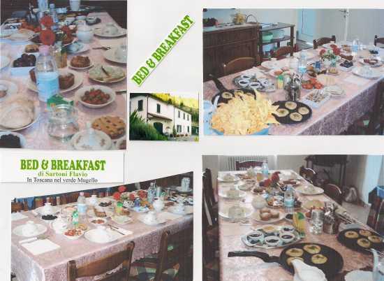 colazione al B&B Sartoni MARRADI (1885 clic)