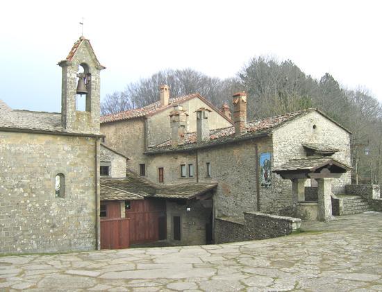 Santuario della Verna - Chiusi della verna (1829 clic)