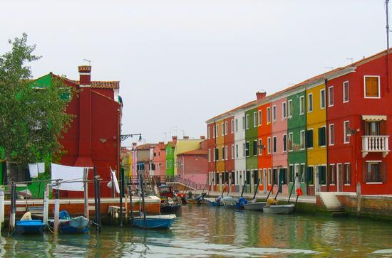 i colori di Burano (Venezia)Veneto (3200 clic)