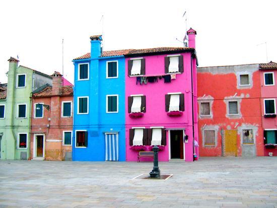 i colori di Burano (Venezia)Veneto (3185 clic)