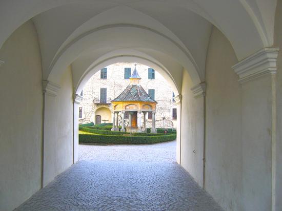 Pozzo delle Meraviglie nel cortile dell'Abbazia di Novacella (1793 clic)