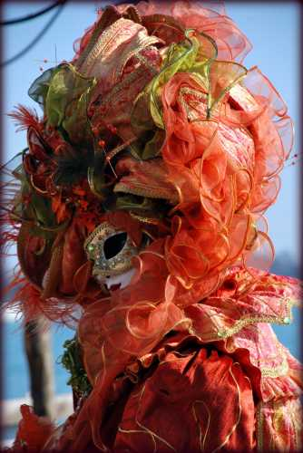 Una gentile signora al Carnevale di Venezia (2414 clic)