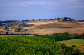 Panorama - Montalcino (1979 clic)