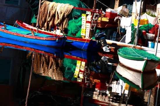 Barca in canale - Chioggia (2239 clic)