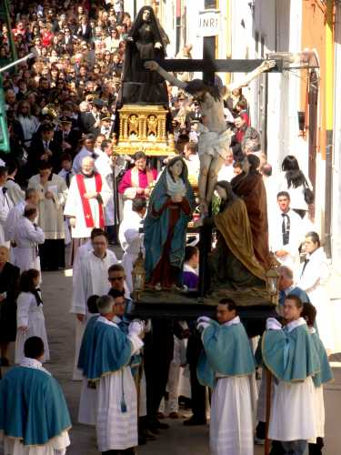 VENERDý DI PASSIONE  -PASQUA 2010 - Trinitapoli (2162 clic)
