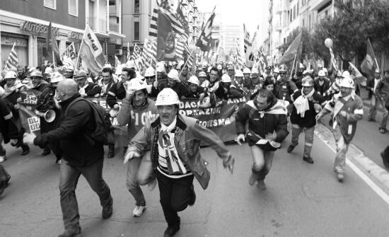 Sciopero generale 05.02.2010 - Cagliari (1957 clic)