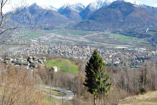 Veduta di Domodossola da Alpe Lusentino (3422 clic)