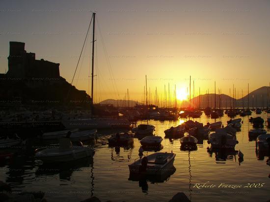 Tramonto su Lerici - Golfo dei Poeti (2817 clic)