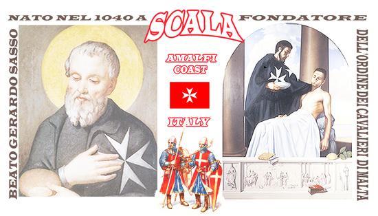 BEATO GERARDO SASSO FONDATORE DELL'ORDINE DEI CAVALIERI DI MALTA - Scala (337 clic)