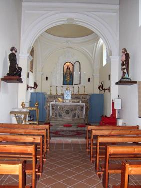 CHIESA DI SAN NICOLA - CAPPELLA - Petina (1838 clic)