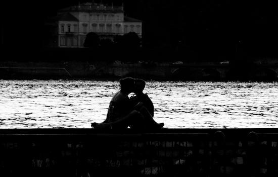 Love in bianco & nero - Como (1440 clic)