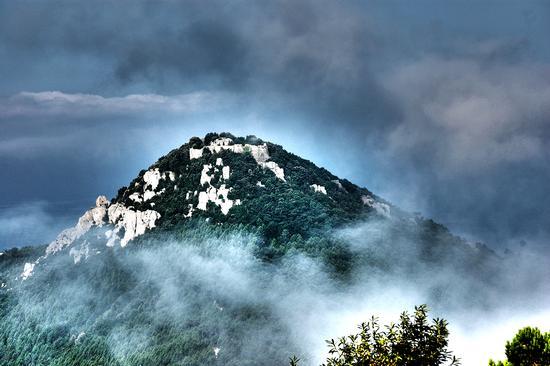 Il fortino sul monte Verruca - Calci (3181 clic)