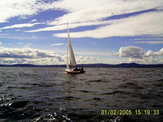 Vela al vento nel mare di Norvegia - Messina (3222 clic)
