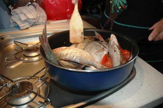 Zuppa di pesci - Sampieri (2935 clic)