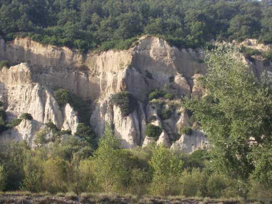 Le dolomiti lucane, valle del Serrapotamo - Carbone (2581 clic)