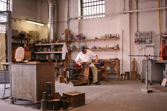 Murano. Lavorazione del vetro (2989 clic)