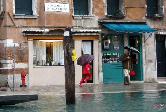 Venezia. Acqua alta (1825 clic)
