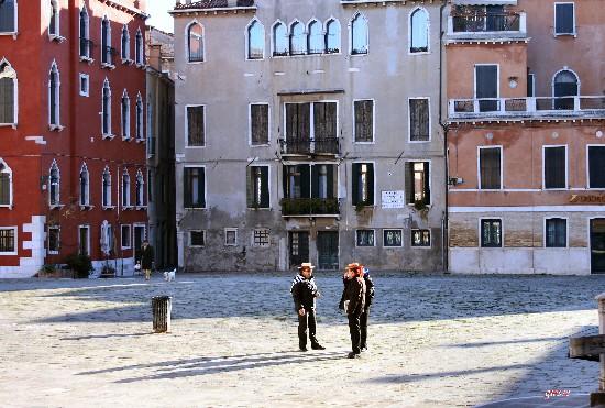 Venezia. Gondolieri (1628 clic)