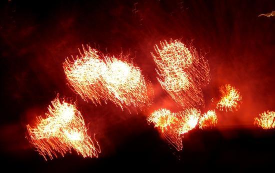 Fuochi d'artificio 2 - Venezia (1502 clic)