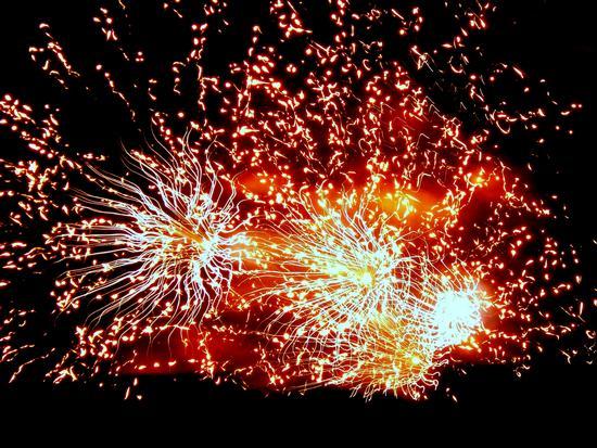 Fuochi d'artificio 3 - Venezia (2706 clic)