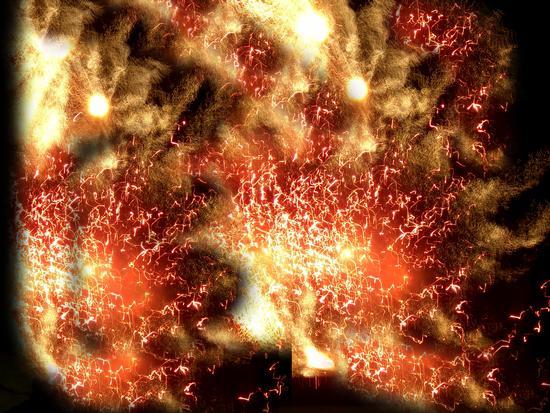 Fuochi d'artificio 8 - Venezia (2098 clic)