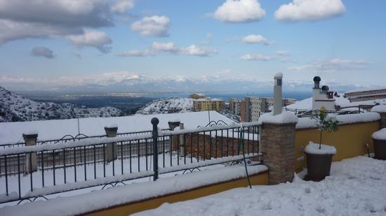 La Terrazza B&B -  la neve è tornata - Rossano (2333 clic)