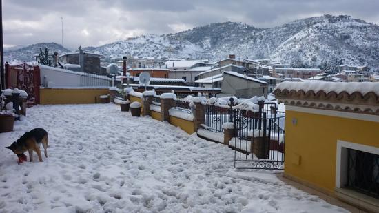 La Terrazza B&B -  la neve è tornata - Rossano (2973 clic)