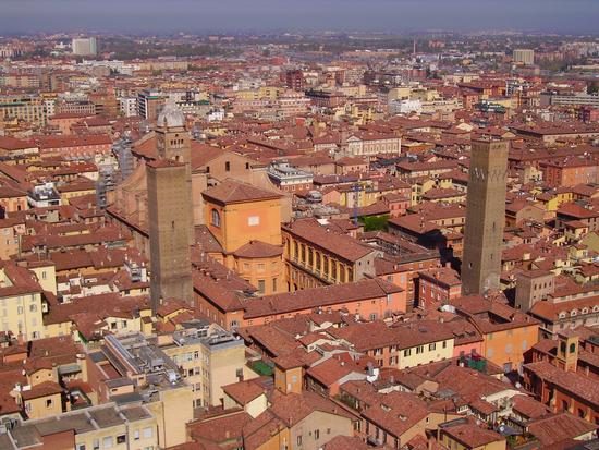 VEDUTA  AEREA - Bologna (7486 clic)