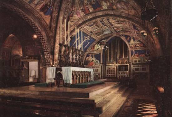 Assisi Basilica inferiore  - Gubbio (3105 clic)