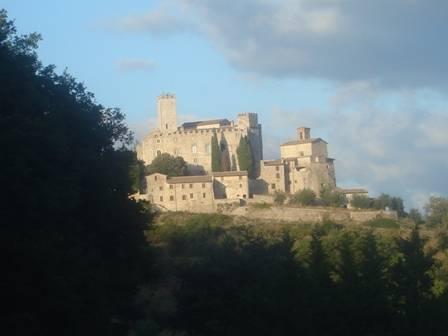 Perugia Castello di antognolla - Gubbio (3071 clic)