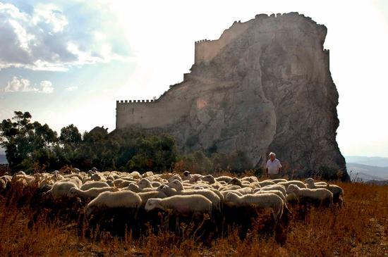 Castello chiaramontano - Mussomeli (3713 clic)