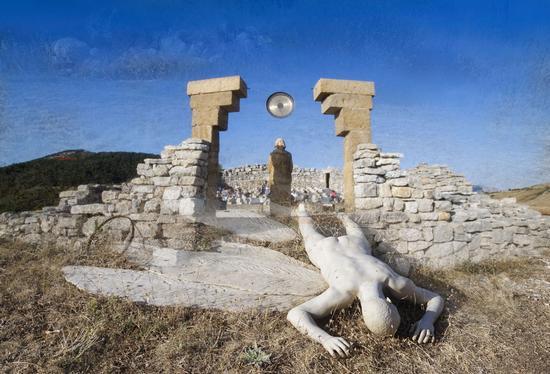 Icaro e Teatro Andromeda - Santo stefano quisquina (90 clic)