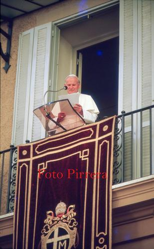 Papa Giovanni Paolo II - Castel gandolfo (261 clic)