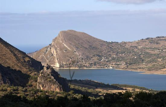 Lago Rosamarina - Caccamo (3493 clic)