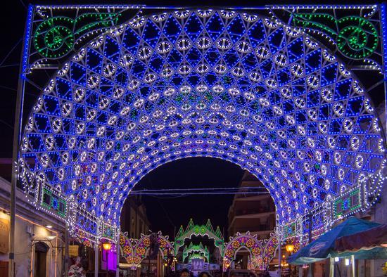 Luminarie per Santa Lucia - Belpasso (517 clic)