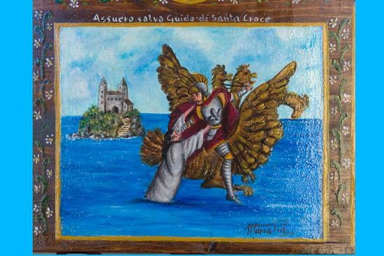 Assuero salva Guido di santa croce /Maria Pia  - Aci sant'antonio (3645 clic)