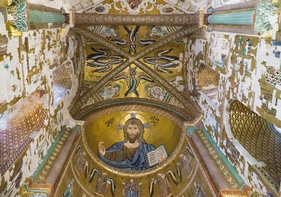 Cristo Pantocrator - Cefalù (241 clic)