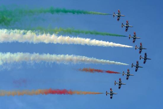 Frecce Tricolore - Palermo (2416 clic)
