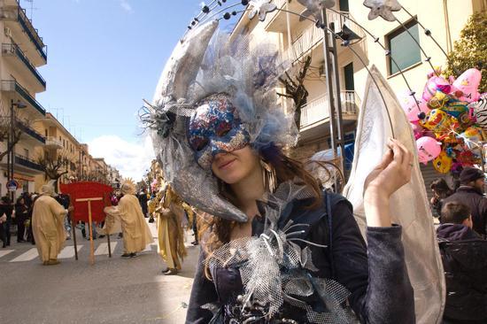 Carnevale in corso - San cataldo (2993 clic)