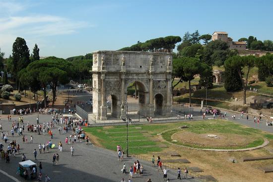 Arco di Costantino - Roma (3054 clic)