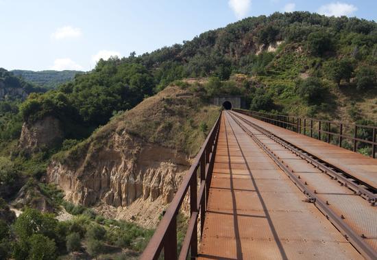 Ponte di ferro - Santo stefano in aspromonte (1474 clic)