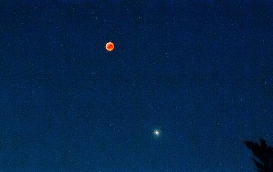Eclisse di luna-27/07/2018 - Bastiglia (397 clic)