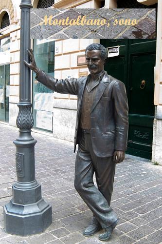 Monumento al commissario Montalbano - Vigata (8761 clic)