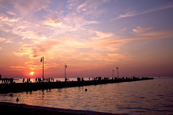 Passeggiata sul Molo Audace - Trieste (4171 clic)