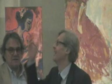 Vittorio Sgarbi e Oliviero Toscani visitano la mostra personale di Mauro DI GIROLAMO EL PINTOR  - Palermo (2582 clic)