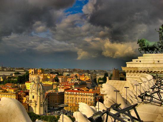 Piazza Venezia - Roma (2218 clic)