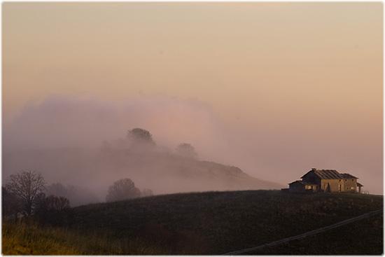la nebbia agli irti colli... - Erbezzo (3688 clic)