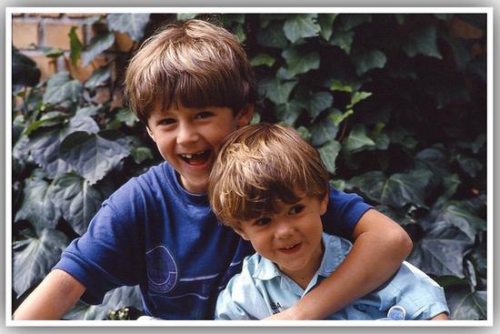 i miei figli ... 25 anni fa - Cisano (1357 clic)